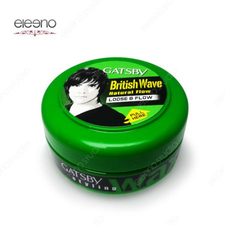 واکس مو سبز گتسبی Gatsby Wax British Wave Loose Flow