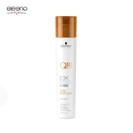 شامپو جوان کننده بناکور حاوی کیوتن BC Time Restore Q10 Shampoo