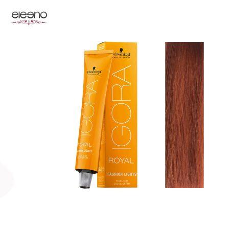 رنگ موی ایگورا رویال فشن لایت Igora Royal Fashion Light L-77 مسی