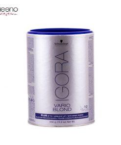 پودر بی رنگ کننده آبی ایگورا پلاس Igora V B Plus