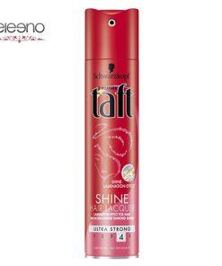 اسپري براق کننده مو (شاین) Taft Shine Hair Lacquer Spray