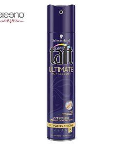 اسپری براق کننده موی التیمیت Taft Ultimate Hair Lacquer