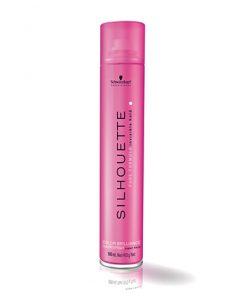 اسپری حالت دهنده و براق کننده مو سیلوت Color Brilliance Hairspray Superhold