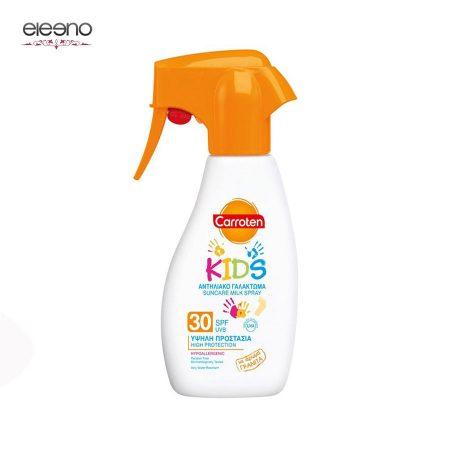 اسپری شیر ضد آفتاب کودک Carroten Suncare Milk Spray SPF 30