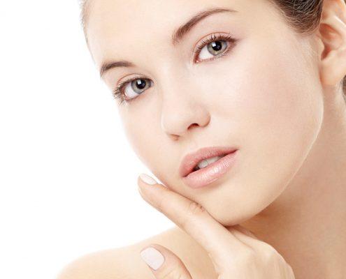 پوست صاف و طبیعی