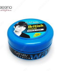 واکس مو آبی گتسبی Gatsby Wax British Hard Free