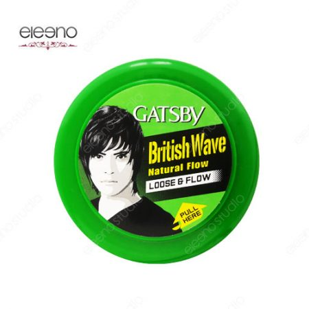 واکس مو گتسبی Gatsby Wax British Wave Loose & Flow