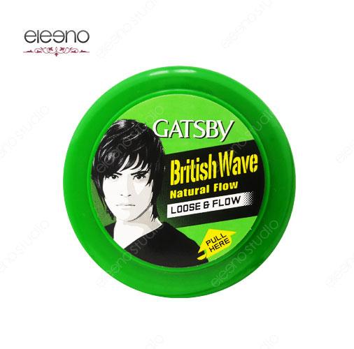 واکس مو گتسبی Gatsby Wax British Wave Loose & Flow