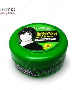 واکس مو سبز گتسبی Gatsby Wax British Wave Loose Flow