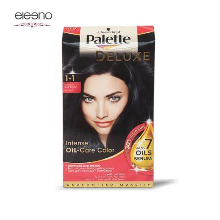 کیت رنگ موی پالت مشکی پر کلاغی Palette Deluxe 1-1