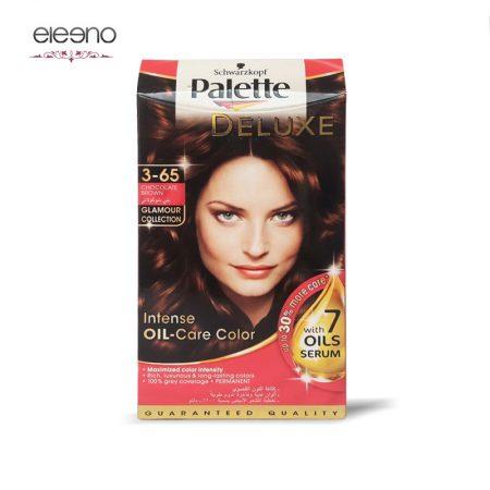 کیت رنگ موی پالت قهوه ای شکلاتی Palette Deluxe 3-65