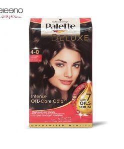کیت رنگ موی پالت قهوه ای متوسط Palette Deluxe 4-0