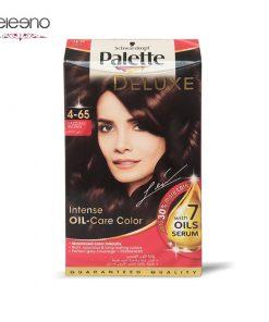کیت رنگ موی پالت قهوه ای خیره کننده Palette Deluxe 4-65
