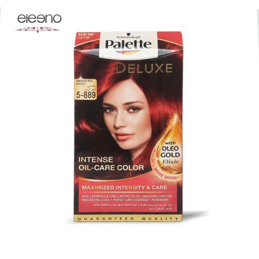 کیت رنگ موی پالت شرابی Palette Deluxe 5-889