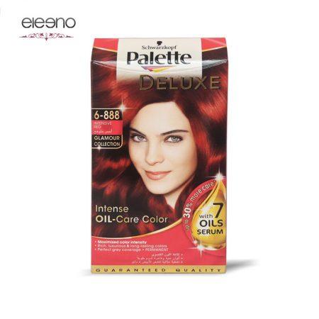 کیت رنگ موی پالت قرمز قوی Palette Deluxe 6-888