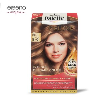 کیت رنگ موی پالت بلوند روشن Palette Deluxe 8-0