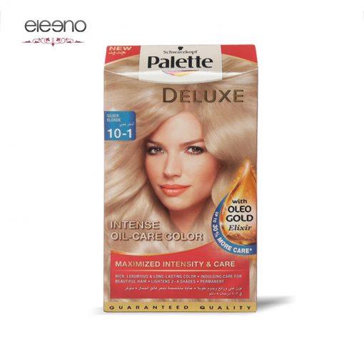 کیت رنگ موی پالت بلوند نقره ای Palette Deluxe 10-1
