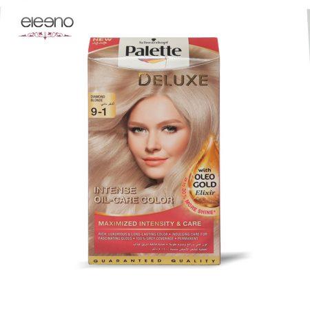 کیت رنگ موی پالت بلوند خیلی روشن خاکستری Palette Deluxe 9-1