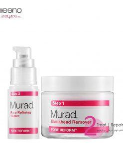 برطرف کننده دانه سر سیاه و قابض منافذ Murad Blackhead & Pore Clearing Duo