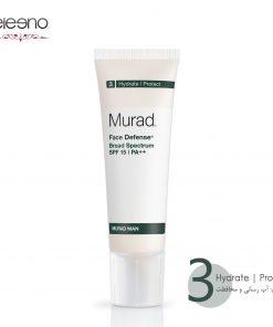 کرم محافظت کننده صورت آقایان Murad Face Defence