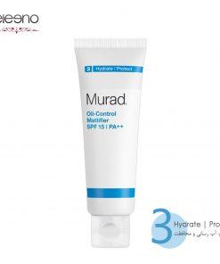 کنترل کننده چربی و مات کننده پوست Murad Oil Control Mattifier SPF15 PA Double Plus