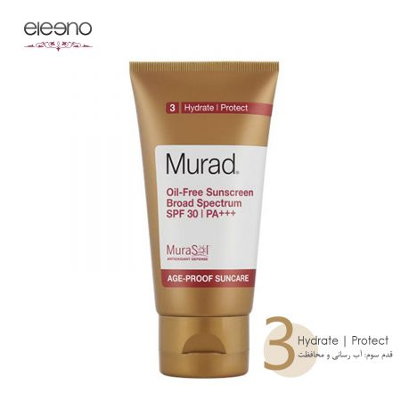 ضد آفتاب فاقد چربی +++Murad Oil Free Sunscreen Broad Spectrum SPF 30 PA