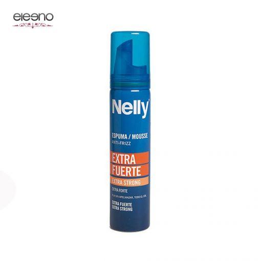 اسپری فوم فوق قوی ضدوز نلی 300 Nelly Mousse Anti-frizz Extra Strong