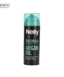 ماسک نرم کننده فوری روغن آرگان نلی 150 میل Nelly Argan Oil Mask