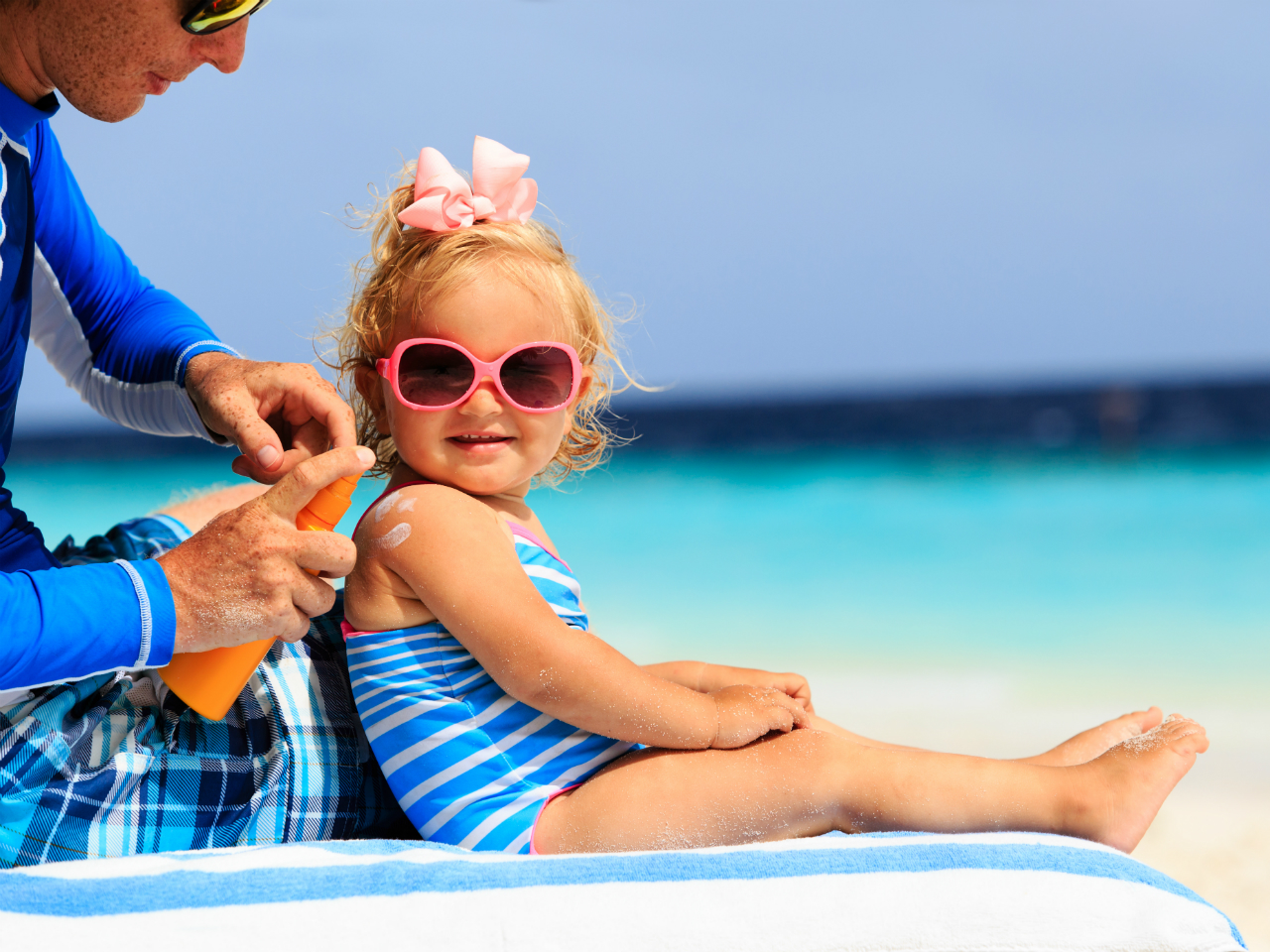ضد آفتاب کودک