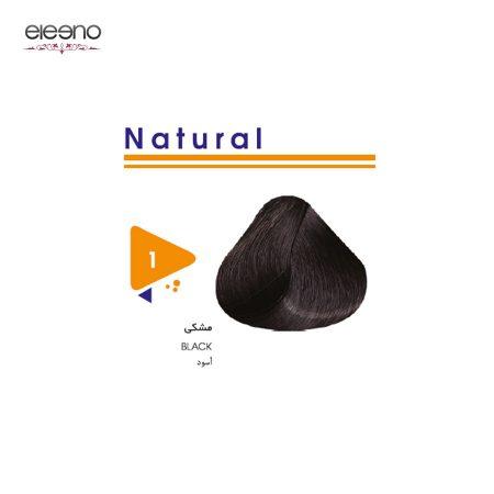 رنگ موی ویتامول شماره 1 طبیعی