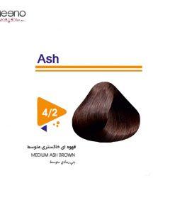 رنگ موی ویتامول شماره 2-4