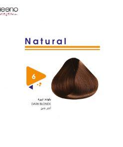 رنگ موی ویتامول شماره 6 طبیعی