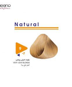 رنگ موی ویتامول شماره 9 طبیعی
