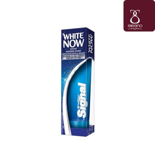 خمیر دندان سیگنال سفید کننده فوری